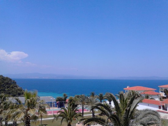 Aristoteles Beach Hotel: View from room
