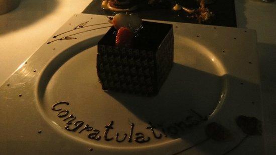 Tower Club at Lebua : Chef's Menu 3, Sirocco