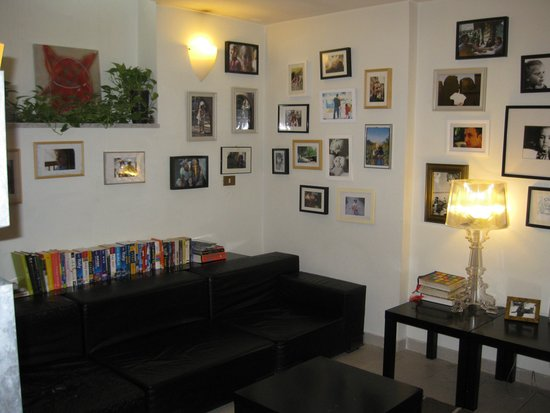 The Beehive: indoor common area