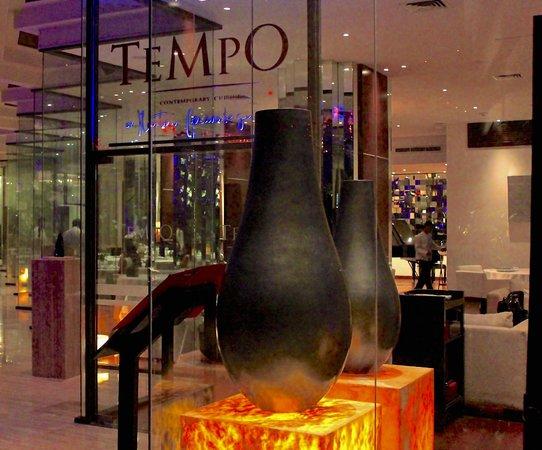 Tempo by Martin Berasategui: Entrada de Tempo
