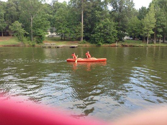The Lodge on Lake Oconee: Canoe on Lake Oconee