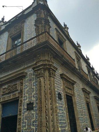 House of Tiles (Casa de los Azulejos): Aspecto exterior de la Casa de los Azulejos