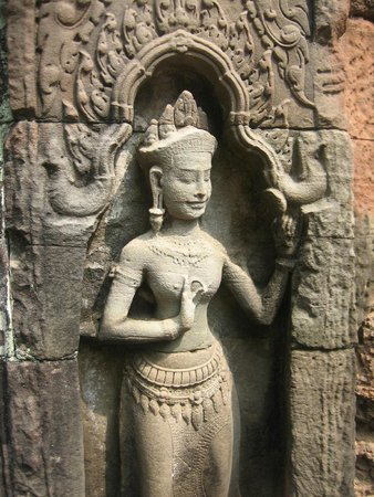 The Moon Boutique Hotel: Apsara in the temple