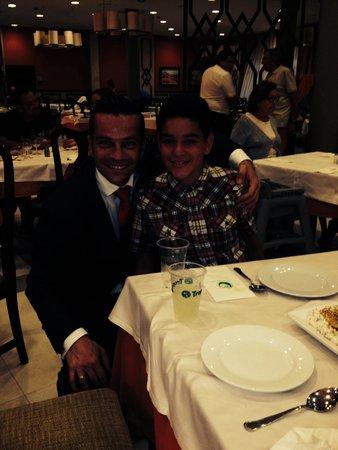 HD Parque Cristobal Gran Canaria: Mi hijo con Eduardo