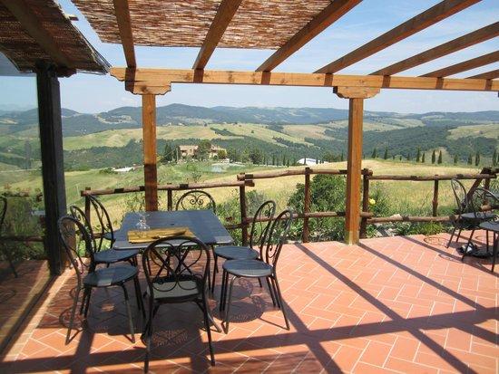 Osteria Villa Felice: Che vista...