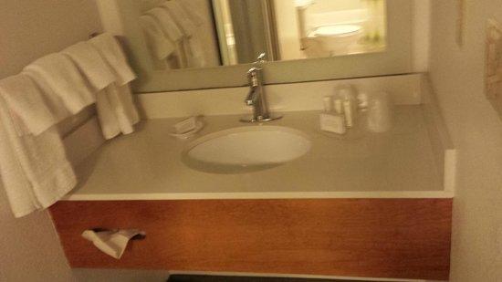 SpringHill Suites Williamsburg: Vanity