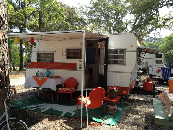 Rivers End Campground and RV Park: Our campsite