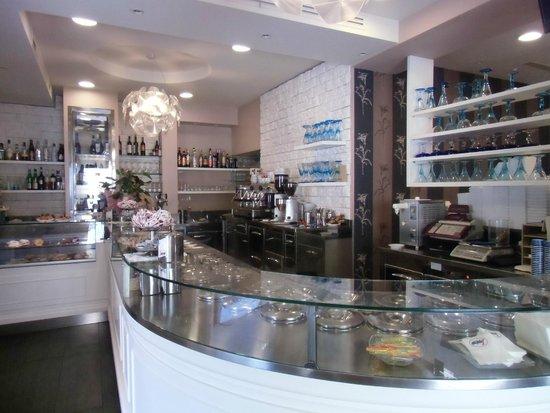 Gelateria Carletto: interno bar
