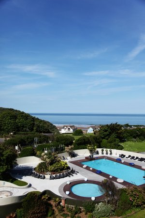 The Woolacombe Bay Hotel: The view from 'The Loft' room