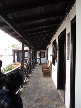 Hotel Nilya: The corridor on the second floor
