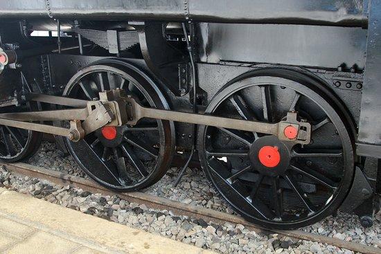 Museo del ferrocarril - Gijón - Ruedas de Locomotora