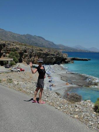 Vritomartis Naturist Resort: Пляж
