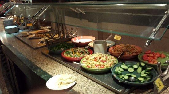 Sindbad Aqua Hotel & Spa: Buffet