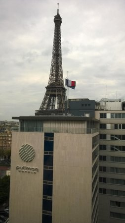 Mercure Paris Centre Eiffel Tower Hotel: Privileged room on the 11th floor
