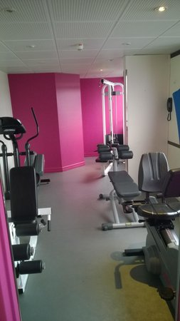Mercure Paris Centre Eiffel Tower Hotel: The Gym on the 12th floor