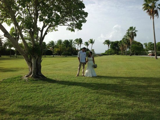Jumby Bay Island: wedding