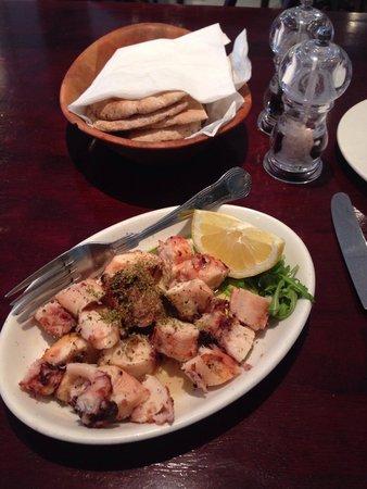 Santorini Restaurant : Octopus