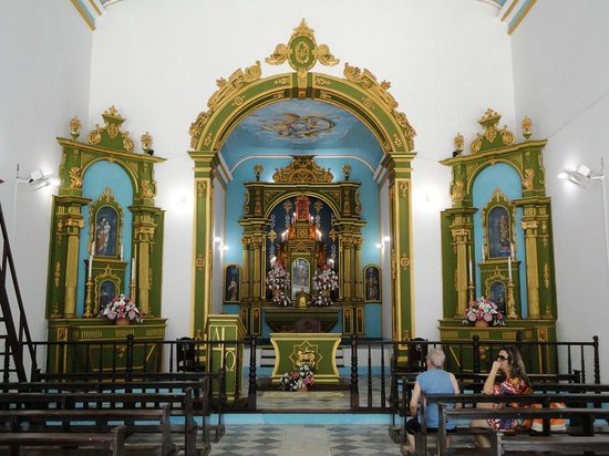 Igreja Da Nossa Senhora Da Luz: Interior