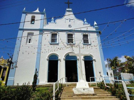 Igreja Da Nossa Senhora Da Luz: Decorada para a noite