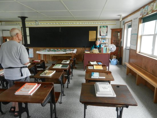 Amish Farm and House : The One Room school house