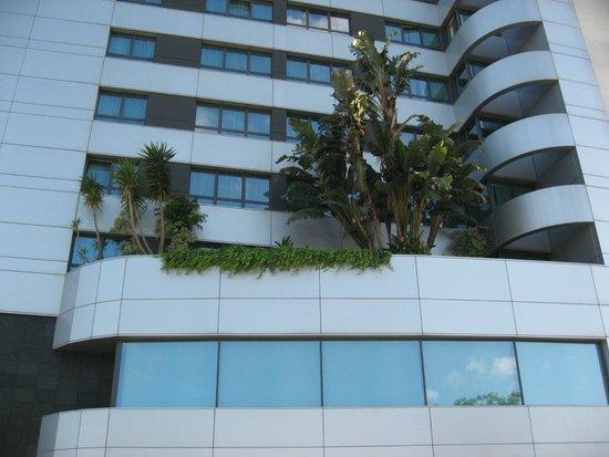 Hotel Açores Lisboa: Hôtel Açores (côté façade)