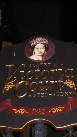 Victoria Court Hotel Sydney: Victoria Court