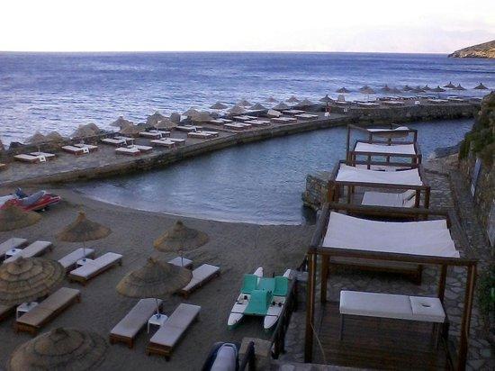 Sensimar Elounda Village Resort & Spa by Aquila : Aquila Elounda Village Strand