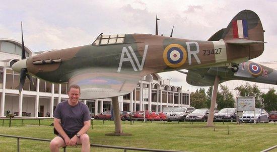 The Royal Air Force Museum London : Hurricane Mk II, 121 Eagle Sqn. (Replica)