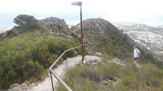 Teleférico Benalmadena: bergweg