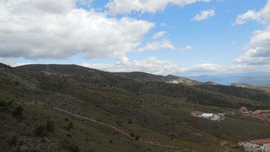 Teleferico Benalmadena : panorama
