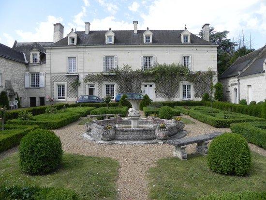 La Chancellerie : French garden