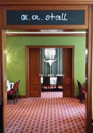 Lindner Hotel City Plaza : Restaurantbereich genauso lecker wie das Essen!