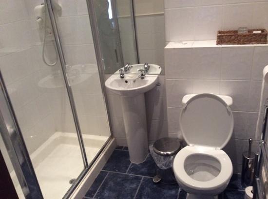 The Castle Inn: bathroom