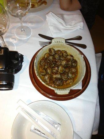 Restaurant Els Cacadors : caracoles