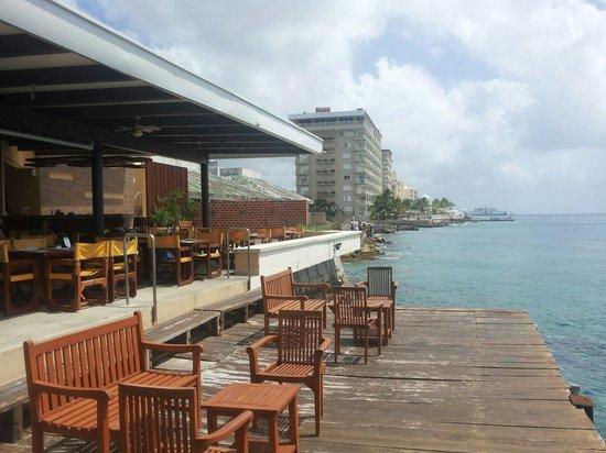 Rolandi's : Vista desde la terraza