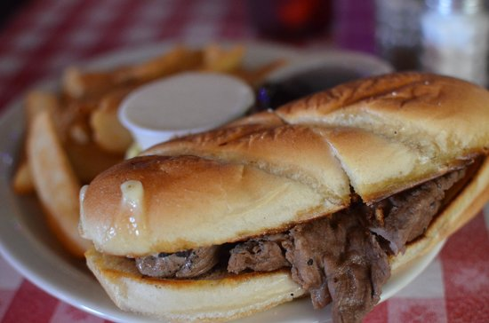 Belmont Grill: French Dip Sandwich