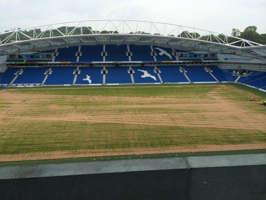 American Express Community Stadium: West Stand view