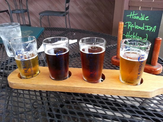 Rohrbach Brewing Co: A nice flight of IPA's