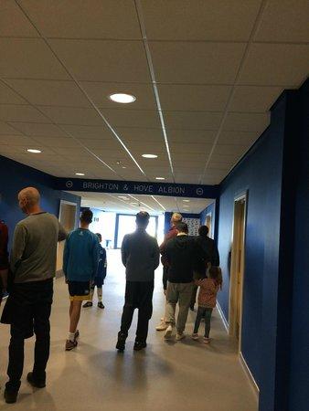 American Express Community Stadium : Tunnel
