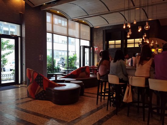 TRYP New York City Times Square South : hall,bar