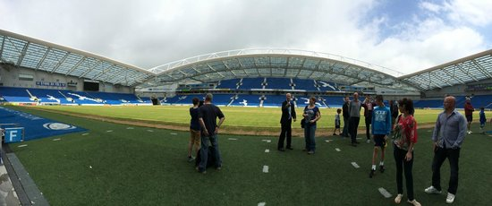 American Express Community Stadium : view from dug outs