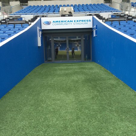 American Express Community Stadium: Tunnel