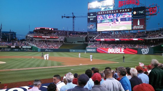 Nationals Park: Nationals Stadium! LETS GO NATS