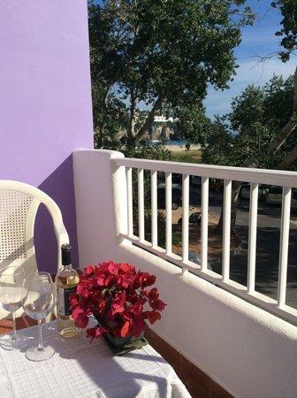 IBB Blue Hotel - Paradis Blau: Balcón vista mar