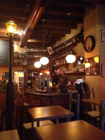 Osteria della Birra : The inside of the bar/restaurant