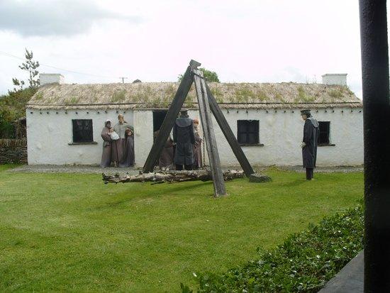 Doagh Famine Village: Scene of eviction