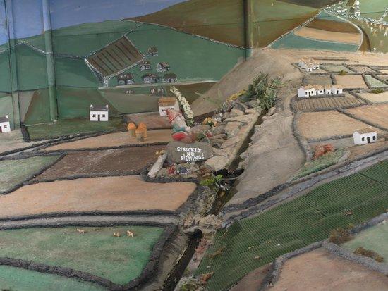 Doagh Famine Village : Model of countryside