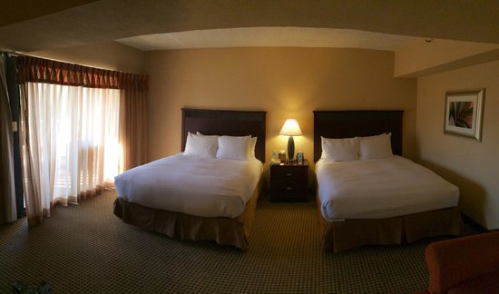 Hilton Phoenix/ Mesa: Double bed Jr Suite