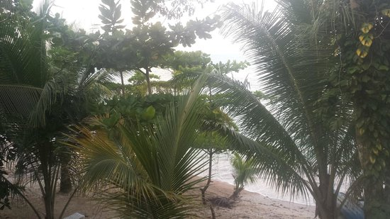 Popa Paradise Beach Resort: View from Casita 6