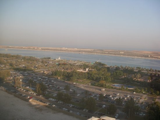 Corniche Hotel Abu Dhabi: the view from my room